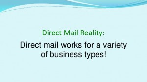 Direct Mail Reality